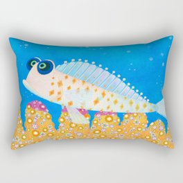 Little diamond Rectangular Pillow