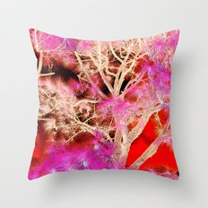 Though the clutter Throw Pillow