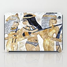 Egyptian Musicians iPad Case
