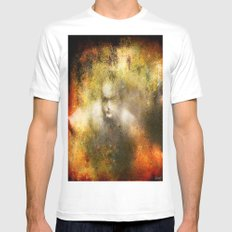 Ghost  Mens Fitted Tee MEDIUM White