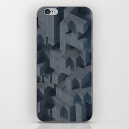 Concrete Abstract iPhone Skin