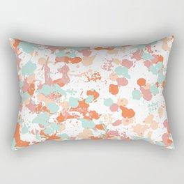 Freestyle Paint Summer Colors Rectangular Pillow