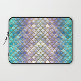 Pretty Mermaid Scales Laptop Sleeve