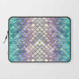 Pretty Mermaid Scales Laptop Sleeve