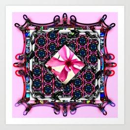 framed p3 Art Print