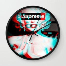 miley supreme Wall Clock