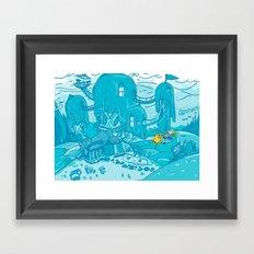 Adventure Time! Framed Art Print