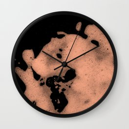 Coral mousse Wall Clock