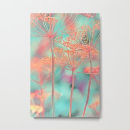 Floral abstract (80) Metal Print