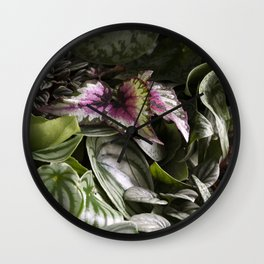 Moody Plants  |  The Houseplant Collection Wall Clock
