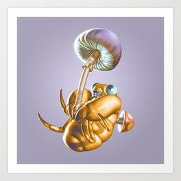 Mushroom Joy Art Print