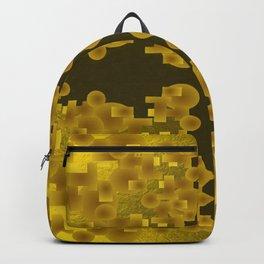 Gold Brocade Backpack
