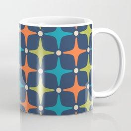 Mid Century Modern Star Pattern 933 Coffee Mug