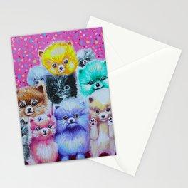 Pomeranian Pyramid Stationery Cards