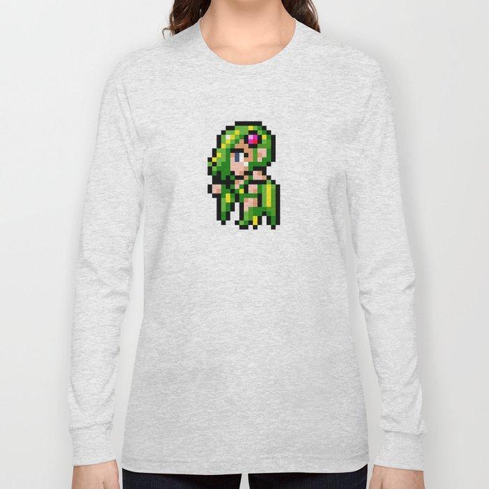 Final Fantasy II - Rydia Long Sleeve T-shirt