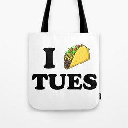 I taco tuesday Tote Bag