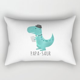 Papa-saur Rectangular Pillow