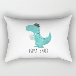Papa-saur Rectangular Pillow