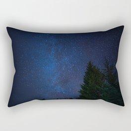 Winter solstice skylight Rectangular Pillow