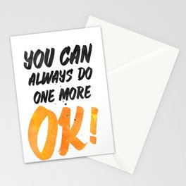 Ok! You can always do one more Stationery Cards