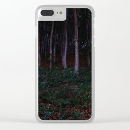 Forest in Transylvania Clear iPhone Case