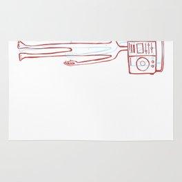 Rado head illustration Rug