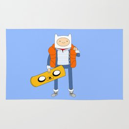 Marty McFinn & Jake the Hoverboard Rug