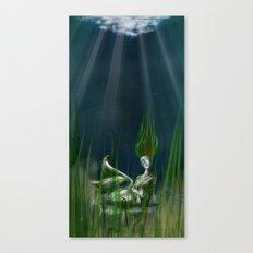 Stone Siren Canvas Print