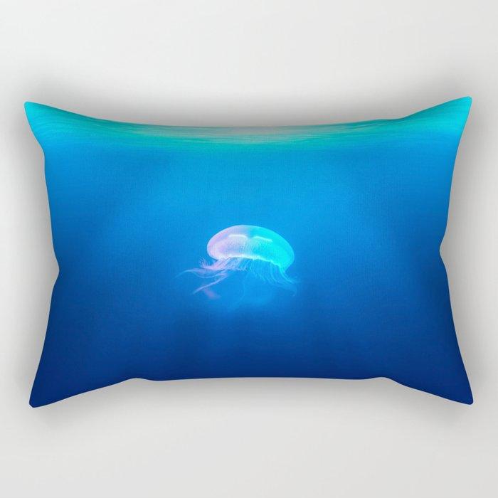 Jellyfish are beautiful Rectangular Pillow