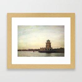 Biloxi Lighthouses Framed Art Print