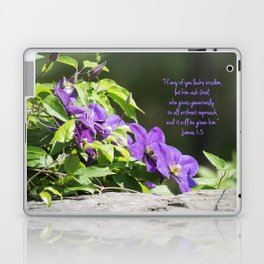 March 3 - James 1:5 Laptop & iPad Skin