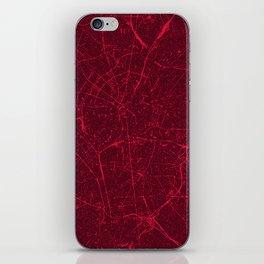 BERLIN GERMANY MAP iPhone Skin