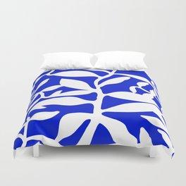blue stem Duvet Cover