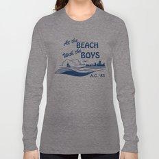 At the Beach with the Boys Long Sleeve T-shirt