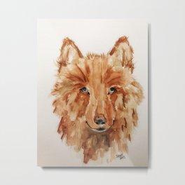 Maggie's Wolfe Metal Print