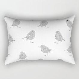 A minimalist Robin Rectangular Pillow