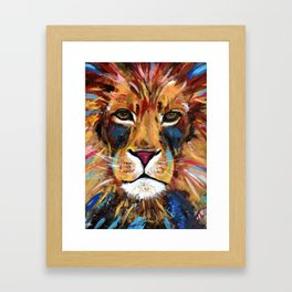 Lion of Judah Framed Art Print