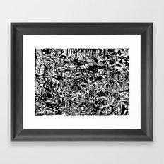 Happy Gram Framed Art Print