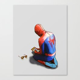 Thank You For The Supers Canvas Print