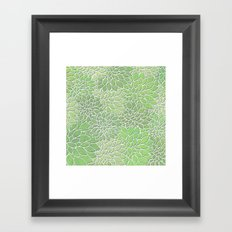 Floral Abstract 30 Framed Art Print