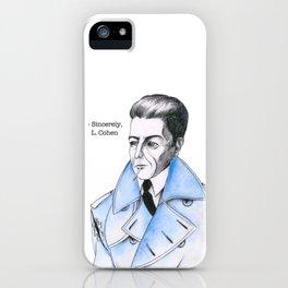 Famous Blue Raincoat iPhone Case