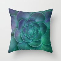 surrealism Throw Pillows featuring Surrealism by 83 Oranges™