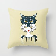 Wolf Tribe Throw Pillow