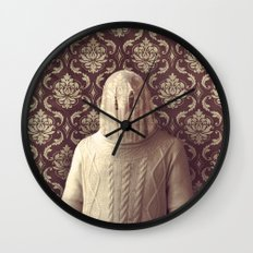 In which I spy a specter Wall Clock