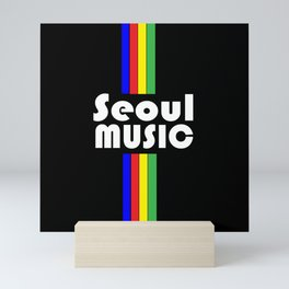 Seoul Music III Mini Art Print