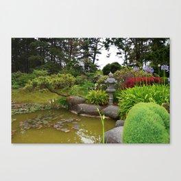 Japanese Garden Lantern Canvas Print