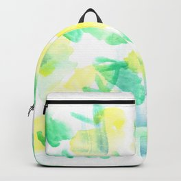 180527 Abstract Watercolour 22| Watercolor Brush Strokes Backpack