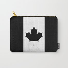 Canada: Black Military Flag Carry-All Pouch