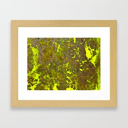 Yellow Rust Framed Art Print