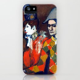 Pablo Picasso At the Lapin Agile iPhone Case
